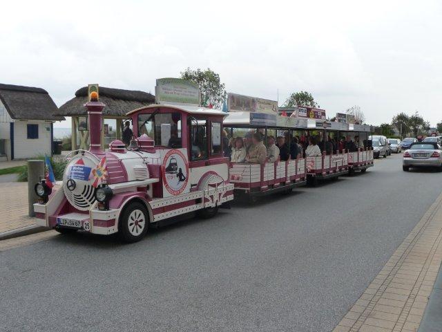 Bimmelbahn Scharbeutz Haffkrug Fahrplan